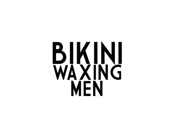 Bikini Waxing (Men)