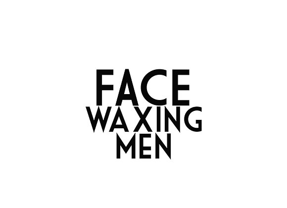 Face Waxing (Men)