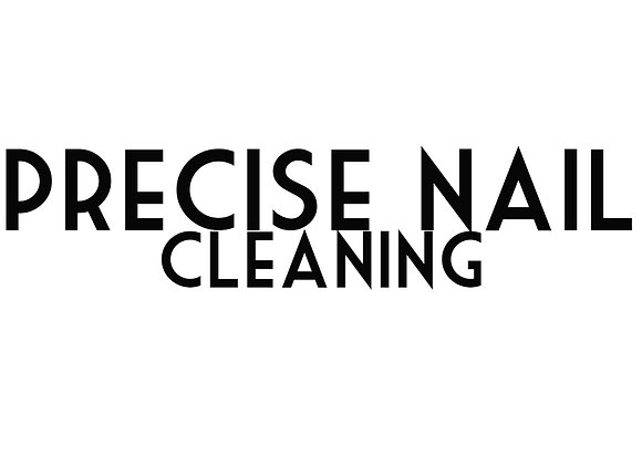 Precise Nail Cleaning (No Polish)