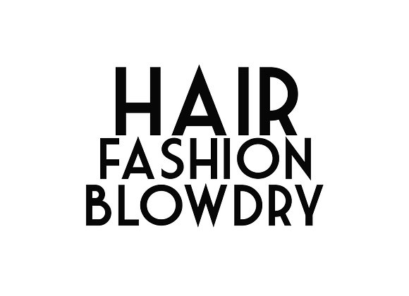 Hair Fashion Blow Dry