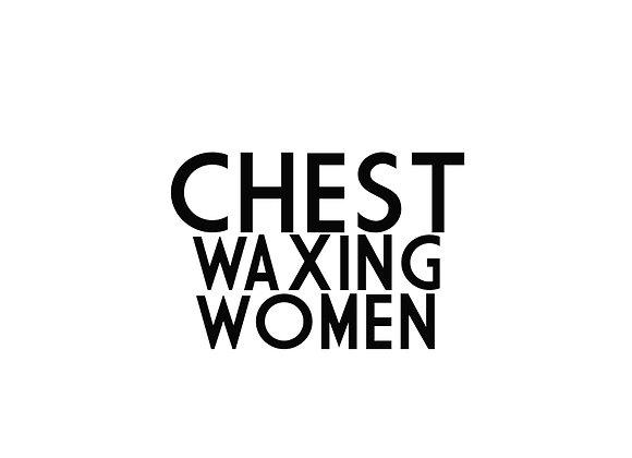 Chest Waxing (Women)