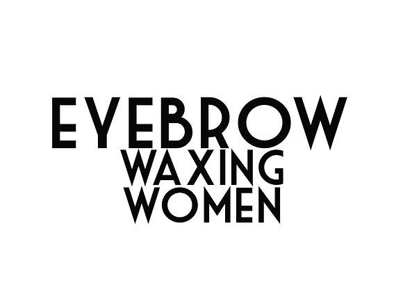 Eyebrow Waxing (Women)