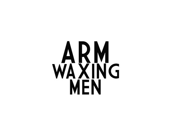 Arm Waxing (Men)