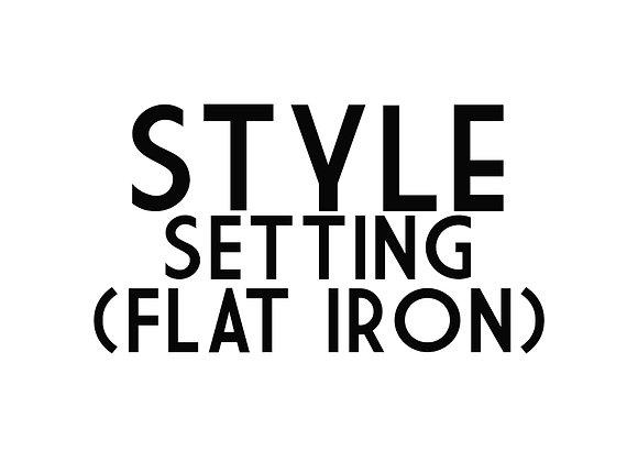 Style Setting (Flat Iron)