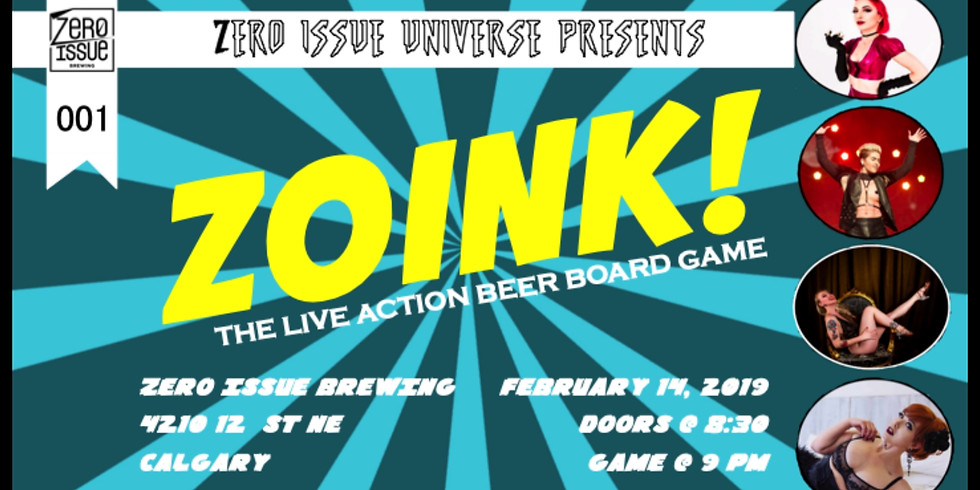 Zoink! Part of the Zero Issue Universe