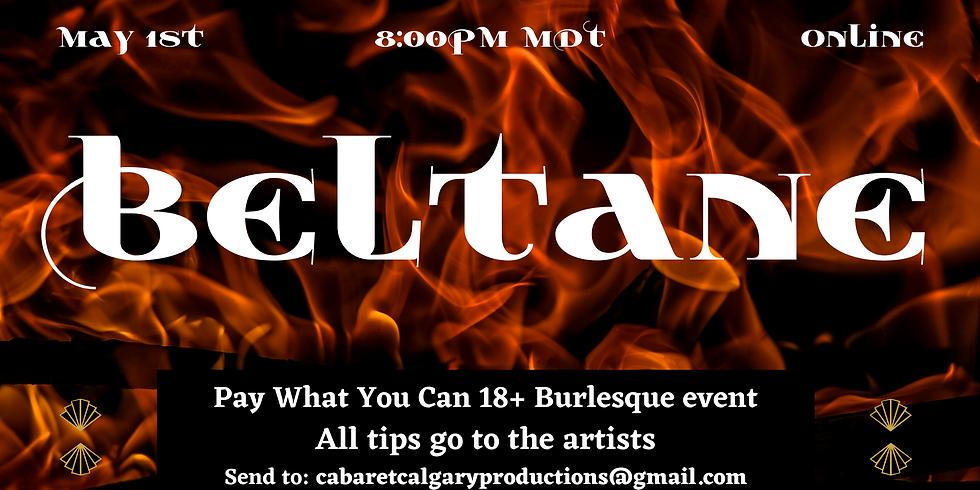 Beltane Online Burlesque Show