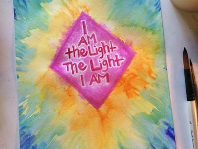 I Am the Light, the Light I Am.
