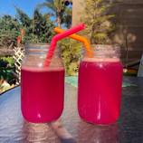 Pink Dragonfruit drink recipe