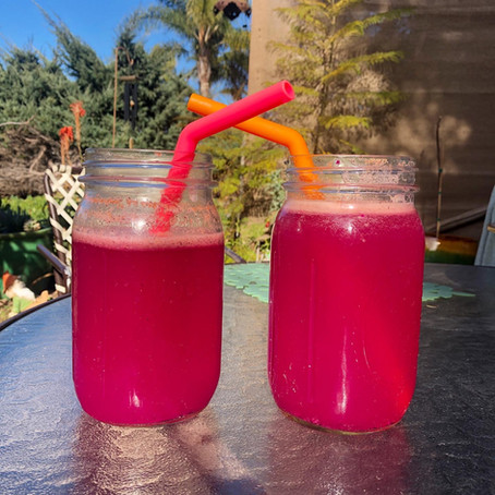 Pink Dragonfruit drink recipe