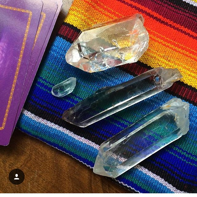 Yum yum crystal playtime ✨ #scenesfrommyaltar #rainbowworshipper