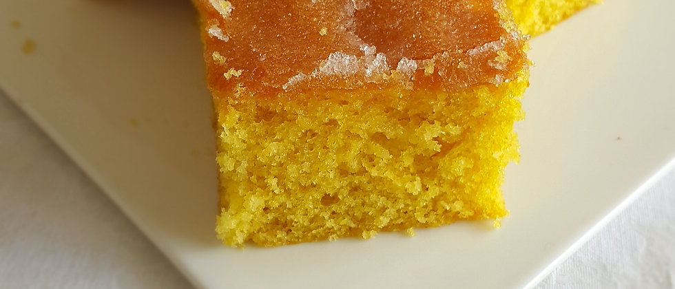 Lemon Drizzle Cake Tray Bake