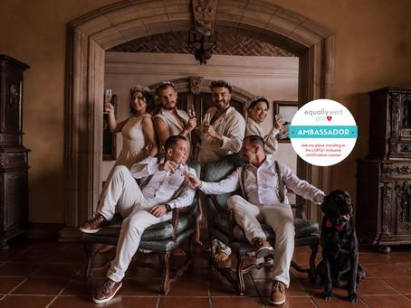 """Obtenga la certificación """"LGBTQ+ Inclusive"""" de Equally Wed Pro"""