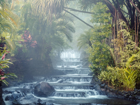 Tabacon Resort: energy flowing from mother Earth
