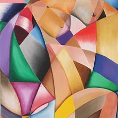 """""""Woman In Picasso Land""""- Mariluz Zapata"""