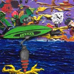 """""""Martian Attack""""- Ismael Zapata"""