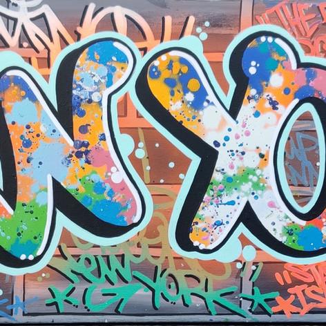 """What's Up New York""- L.E.S. INKK"