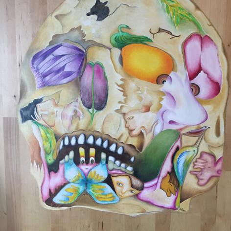 """""""Skull On Woods""""- Mariluz Zapata"""