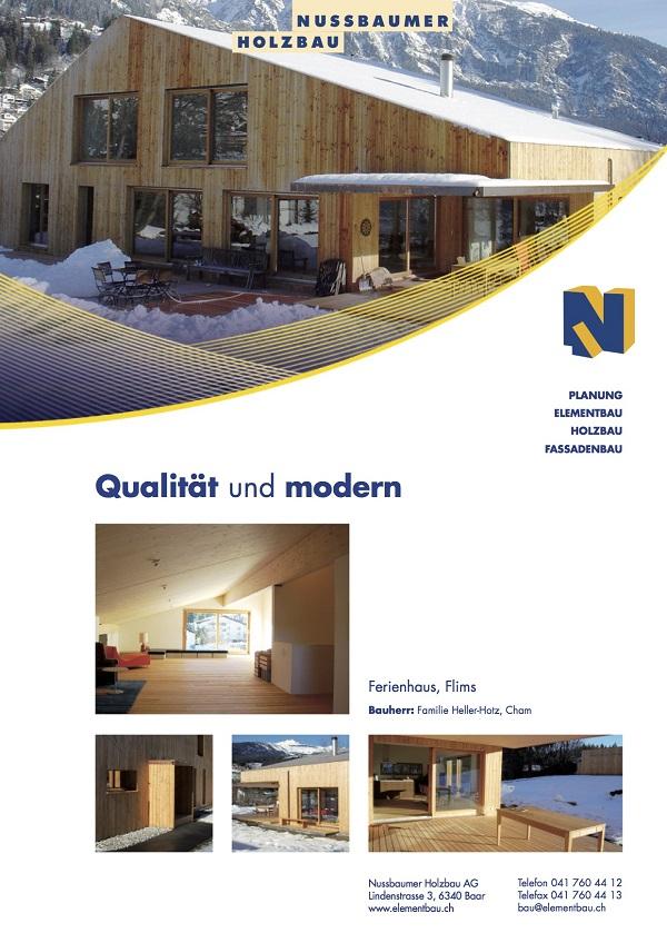 Einfamilienhaus, Heller, Flims