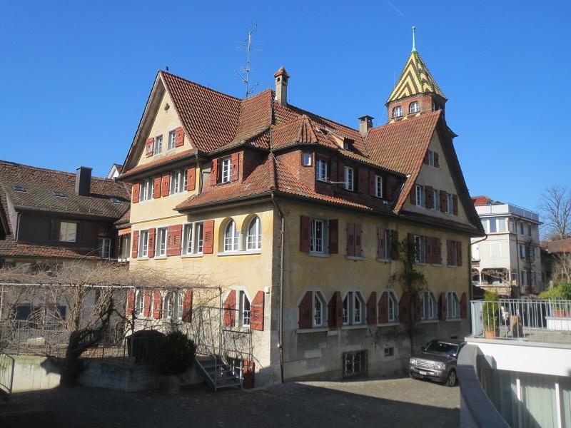 Schlosshof, Zug - vor Umbau