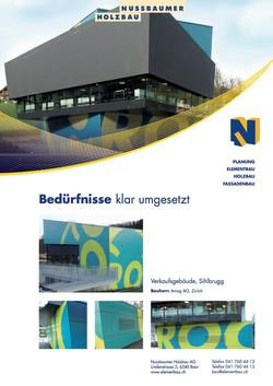 Roc, Verkaufspavillon, Sihlbrugg