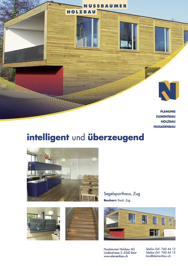 Segelsporthaus in Zug
