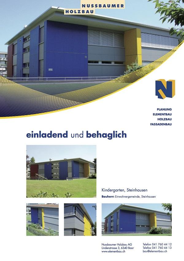 Kindergarten, Goldermatten, Steinhausen