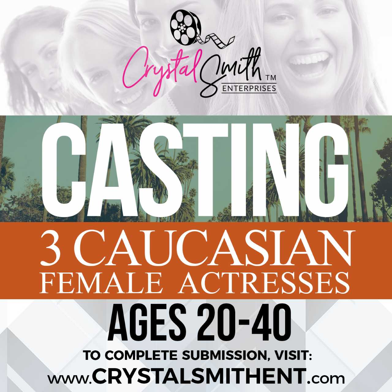casting causcasian actress