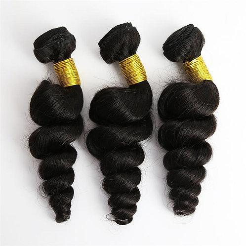 3 Bundle Loose Wave Brazilian Hair