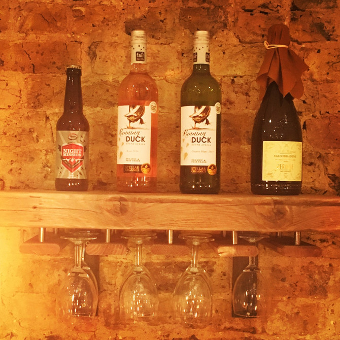 Lu-Ma now serve organic wines, beer and vegan prosecco!!