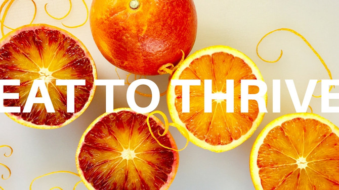 Eat to Thrive! New interactive classes explaining the science behind the food you eat
