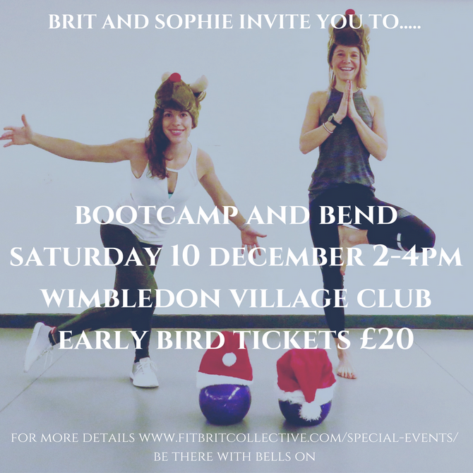 Luma supports Fit Brit Collective's Bootcamp and Bend
