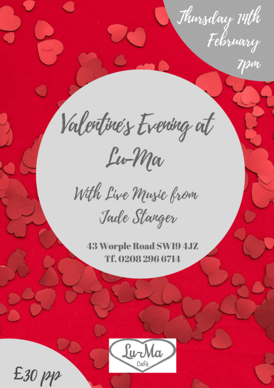 Join us for Valentine's Day!