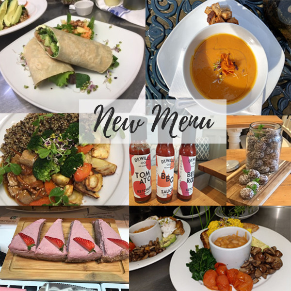 Our new menu has been launched!