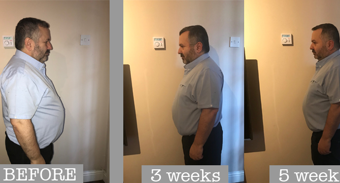 Director of AFC Wimbledon's weight loss journey with Lu-Ma