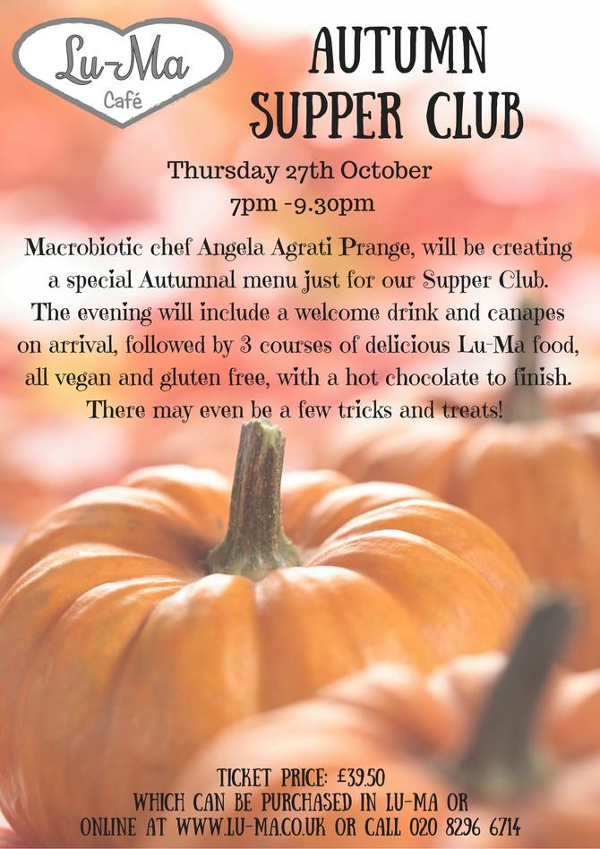Autumn Supper Club