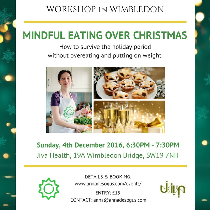 Mindful Eating Over Christmas