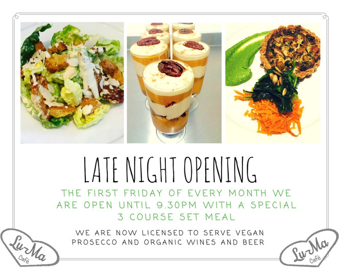 Our next late night is on the 7th April!