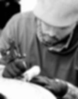Tattoo Artist Chris Kelley