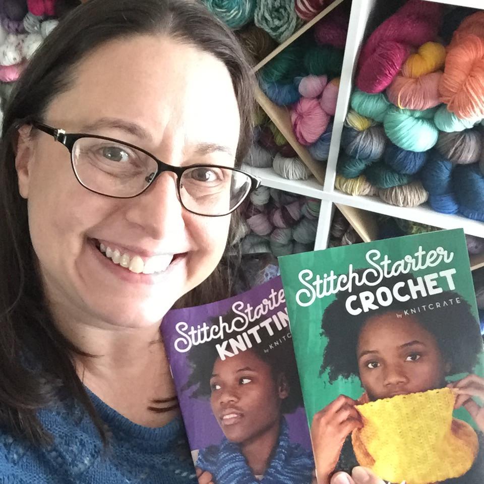 Stitch Starter Beginning Crochet and Knit Kits & Me