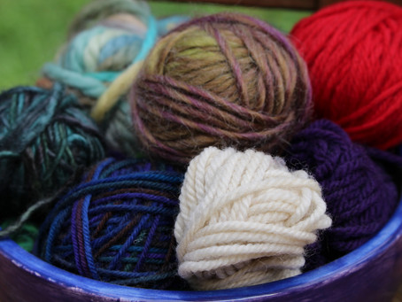 My name is Aimée and I'm a yarn geek