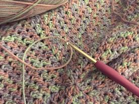 WIDN: Crochet Baby Afghan & Knit Scarf