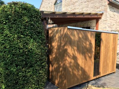Outdoor sauna Löyly