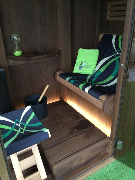 Outdoor sauna 'Löyly'