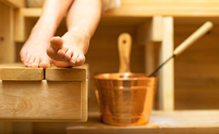 Sauna versus sporten
