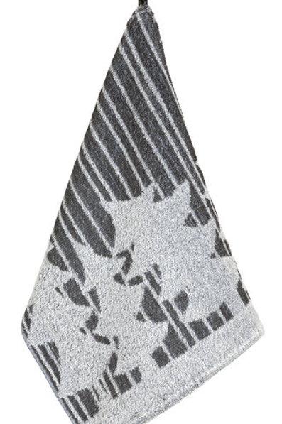 Kuusimetsä handdoek klein, donkerblauw