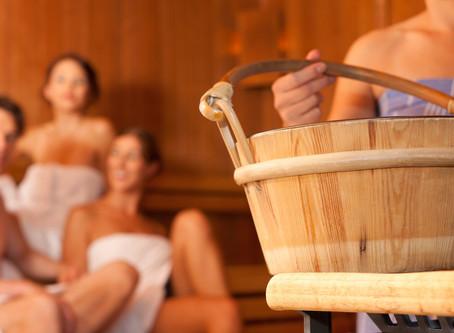 Het nemen van een sauna is één van de sleutels tot gezond leven.