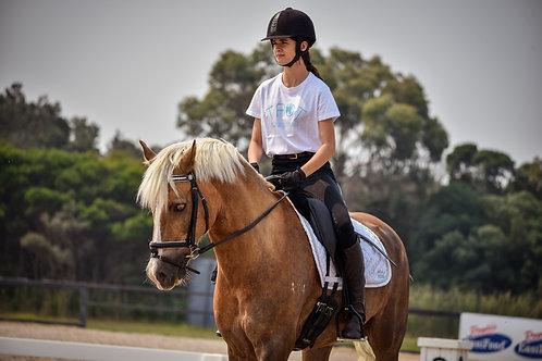 White Trot Equestrian Logo T-Shirt