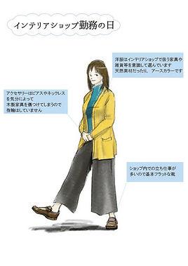 インテリアコーディネーターのファッション