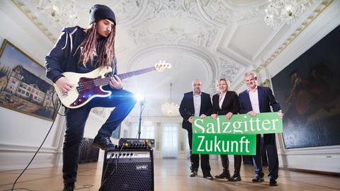Kampagnen-Plakat | Salzgitter Zukunft