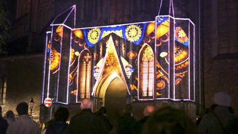 Projektion | Ägidienkirche